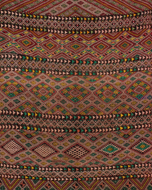 "Vintage Moroccan rug, a Berber Zayan from the middle Atlas mountains, 8'6"" x 4'9"""