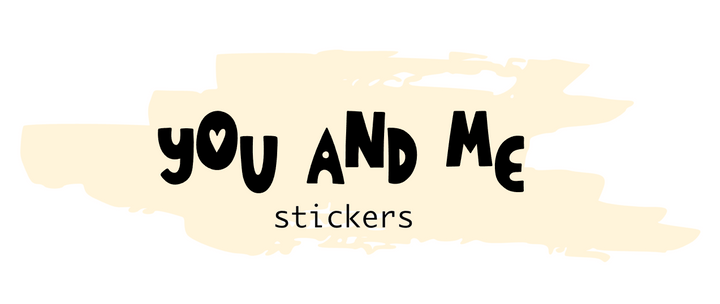 You and Me Stickers