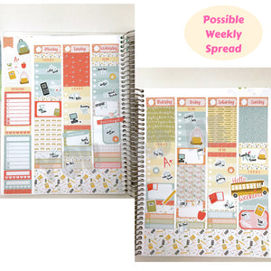 Weekly Kit | Erin Condren | Planner Stickers | WK26