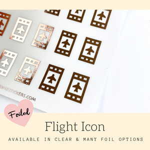 Foiled Stickers | Erin Condren | Planner Stickers | FSS31