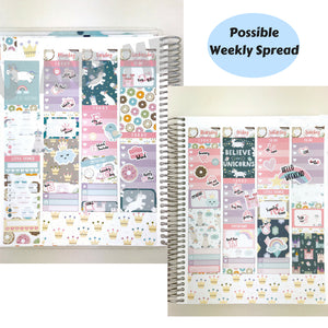 Weekly Kit | Unicorn Sticker | Erin Condren | WK28