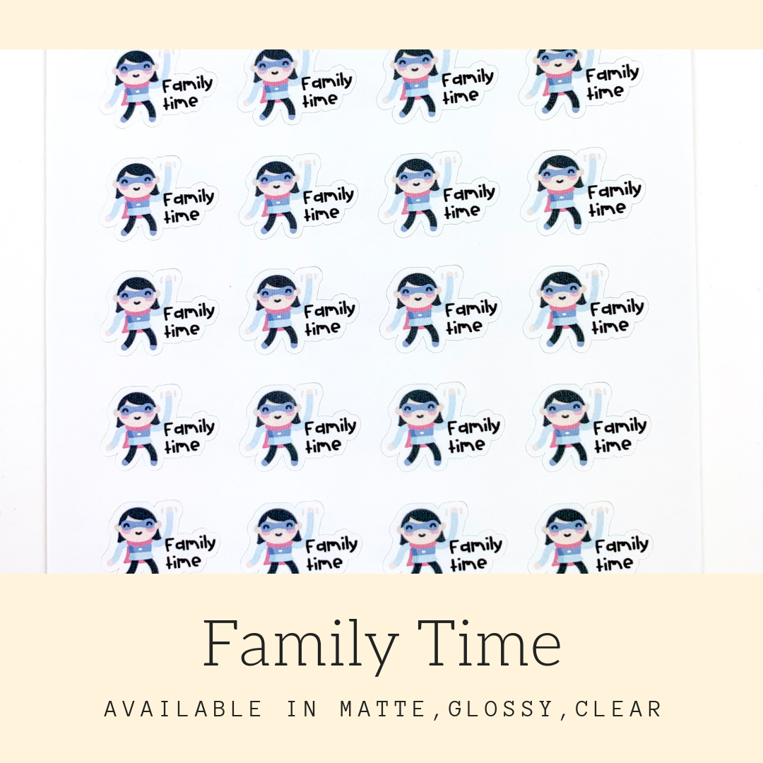 Character Stickers | Judy | Erin Condren | AS106