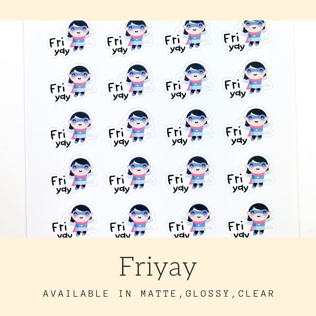 Character Stickers | Judy | Erin Condren | AS105