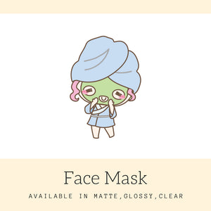 Beauty Stickers | Character Stickers | Mari | Erin Condren | AS51