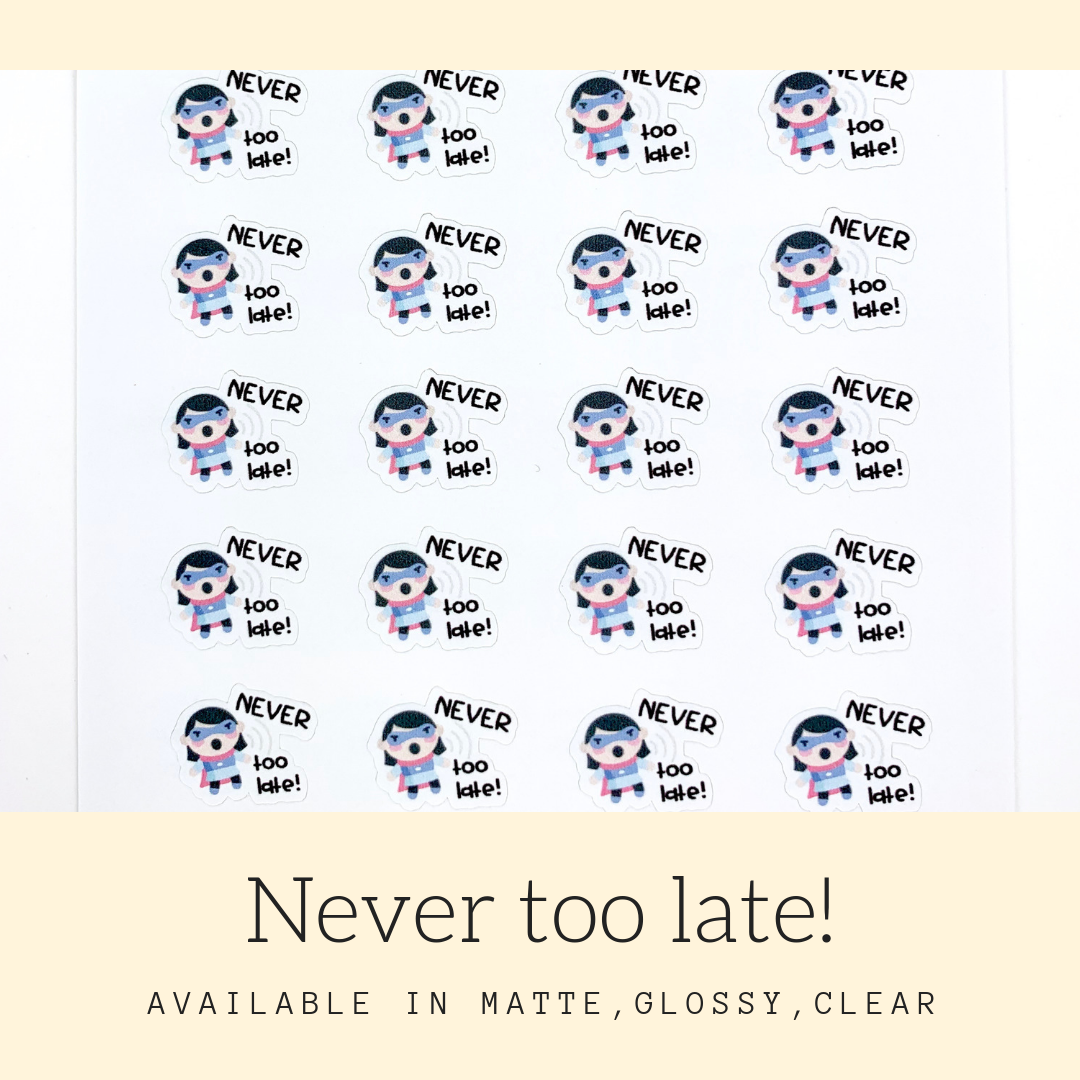 Character Stickers | Judy | Erin Condren | AS108