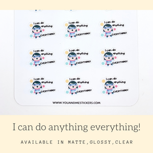 Character Stickers | Judy | Erin Condren | AS112