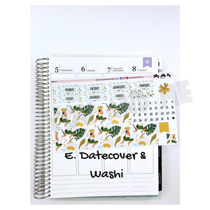 Weekly Kit | Erin Condren | Summer | Planner Stickers | WK49