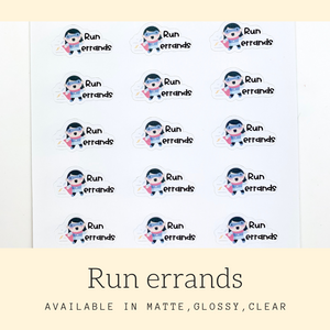 Character Stickers | Judy | Erin Condren | AS96