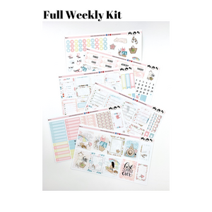 Weekly Kit | Erin Condren | Summer | Planner Stickers | WK51