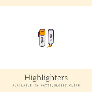 Highlighters Stickers | Icon Stickers | CS137