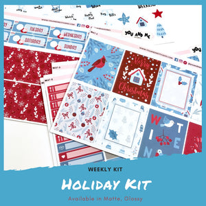 Weekly Kit | Holiday | Erin Condren | WK47