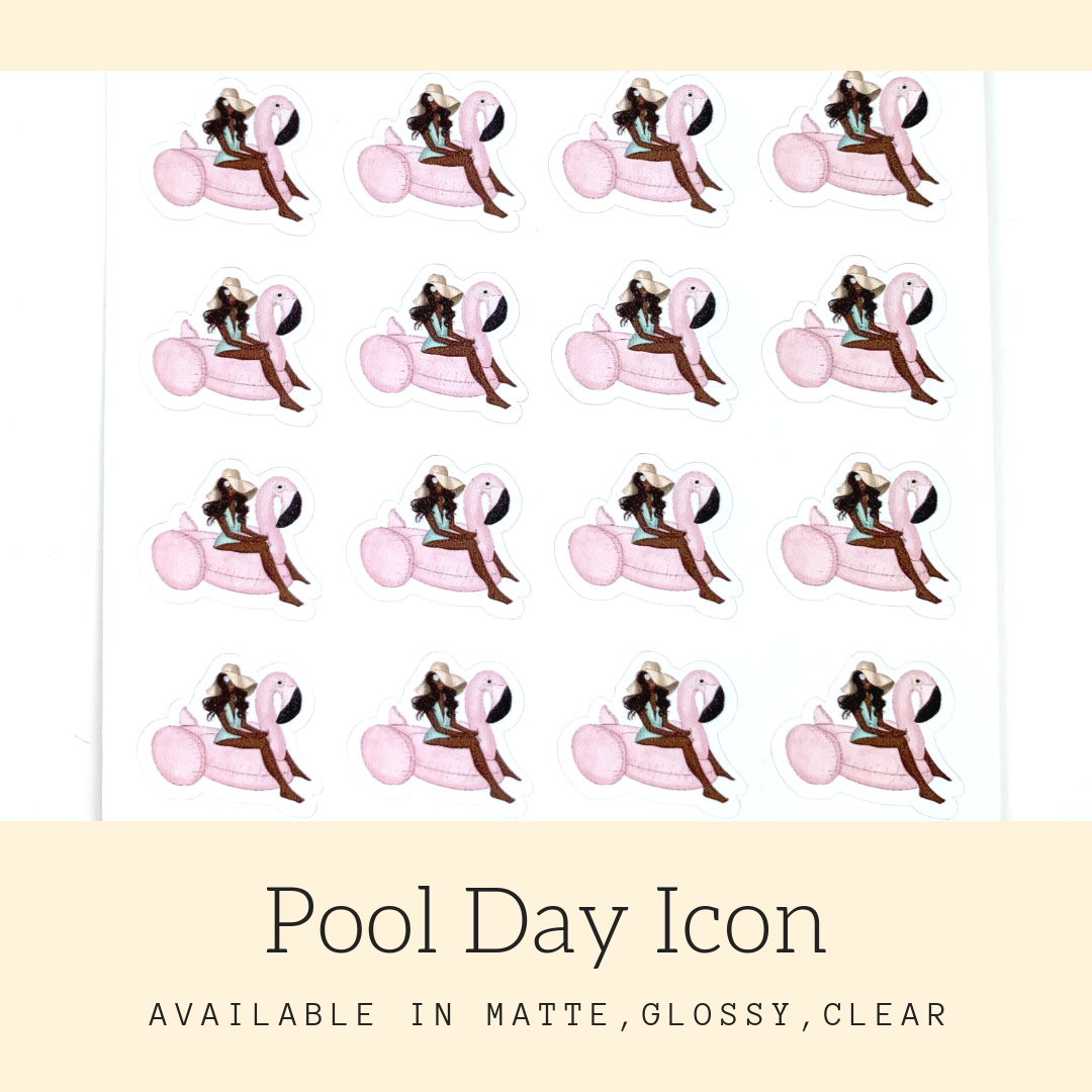 Planner Stickers | Icon Stickers | CS176B