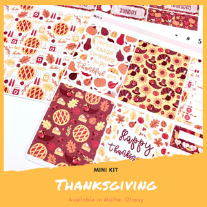 Mini Kit | Holiday | Planner Stickers | Erin Condren | MK15