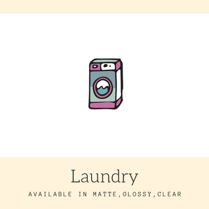 Laundry Stickers | Icon Stickers | CS153