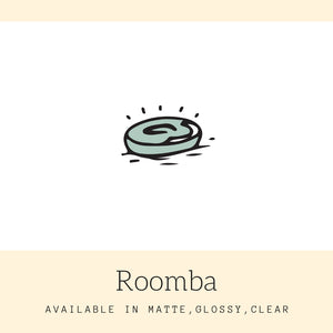Roomba Stickers | Icon Stickers | CS155