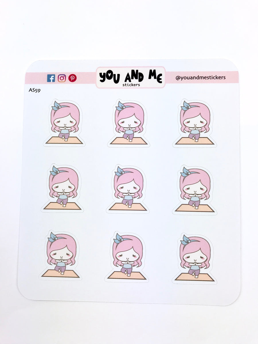 Character Stickers | Planner Stickers | Erin Condren | Happy Planner | AS59