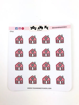 House Stickers | Icon Stickers | CS127