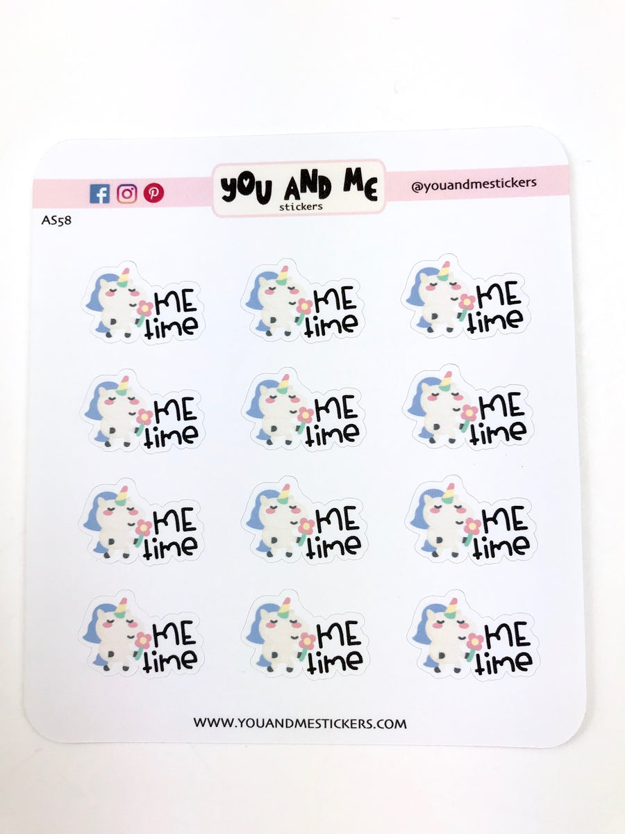 Unicorn Stickers | Planner Stickers | Erin Condren | AS75