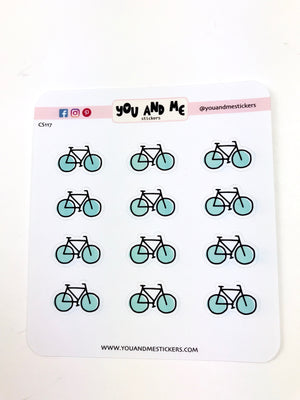 Bicycle Stickers | Icon Stickers | CS117