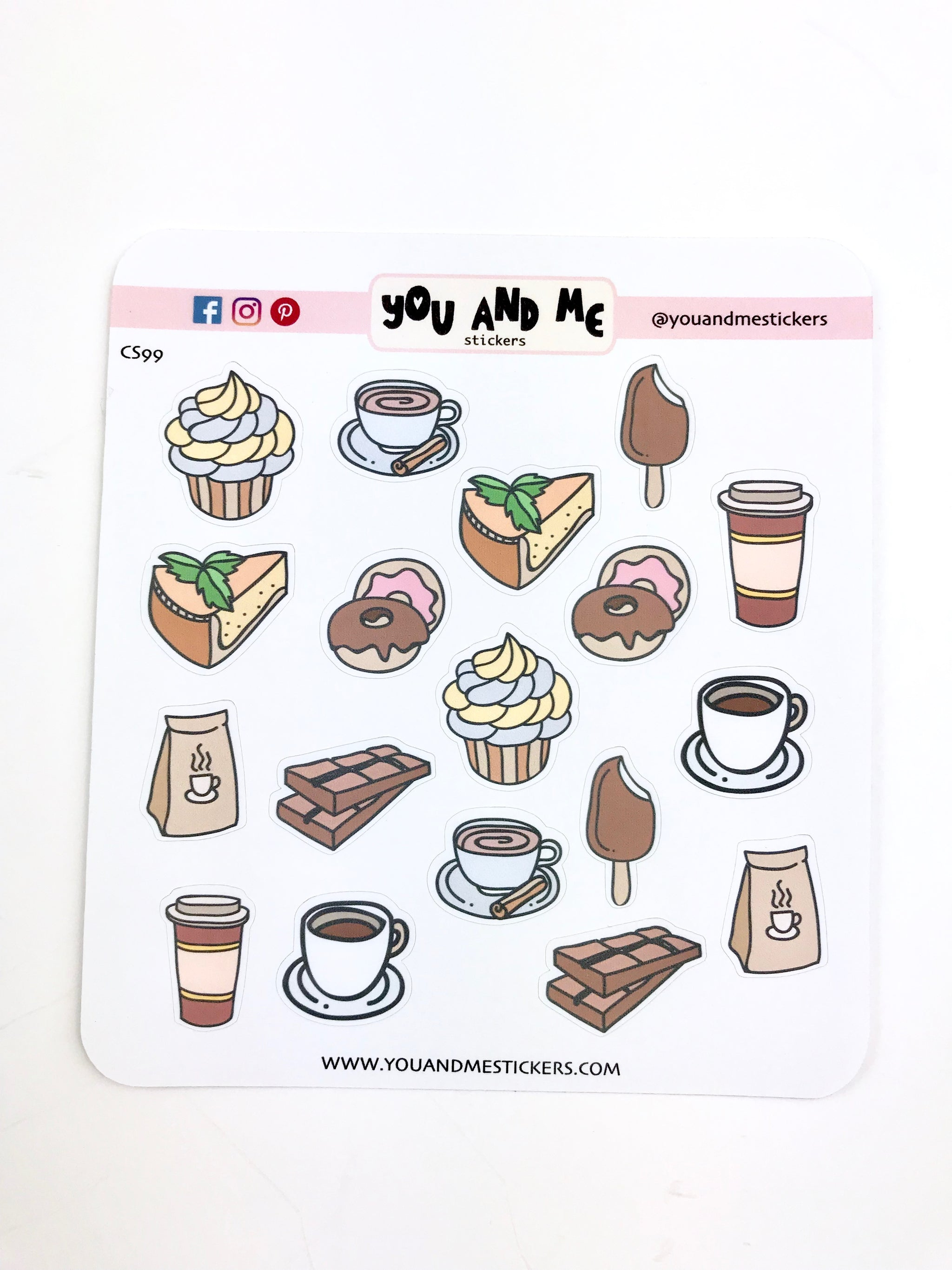 Food stickers icon stickers cs131
