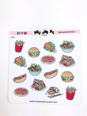 Food Stickers | Icon Stickers | CS130