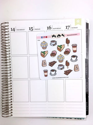 Food Stickers | Icon Stickers | CS131