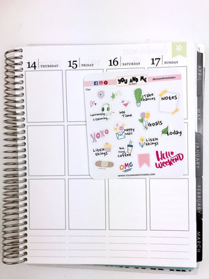 Planner Stickers | Icon Stickers | CS91