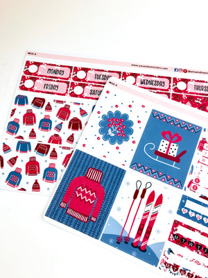 Mini Kit | Holiday | Planner Stickers | Erin Condren | MK18