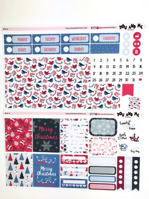 Mini Kit | Holiday | Planner Stickers | Erin Condren | MK19