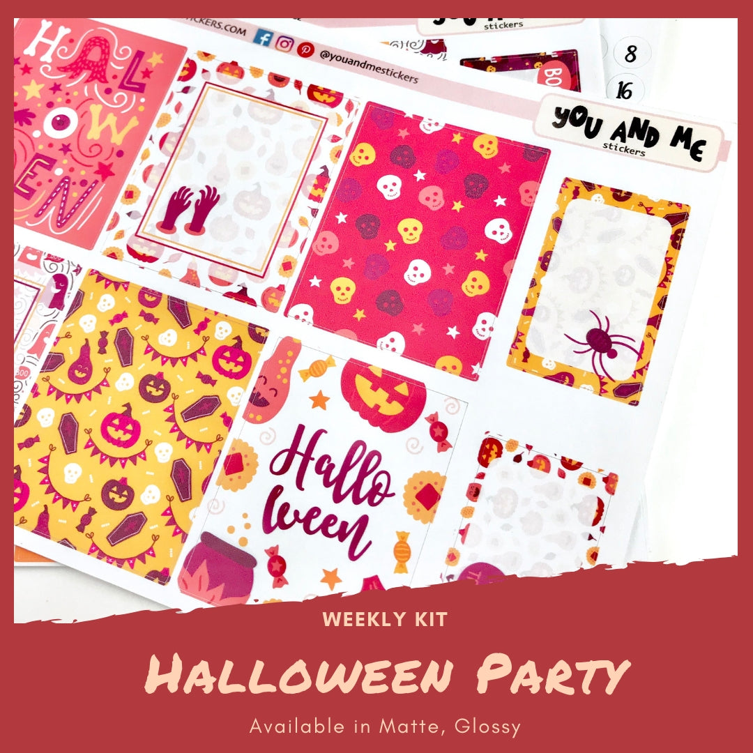 Weekly Kit | Halloween | Erin Condren | WK44