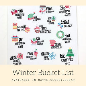 Winter Stickers | Icon Stickers | CS164