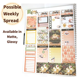 Hello Autumn... Weekly Kit For Erin Condren | Happy Planner | Wk19 - Weekly Kit