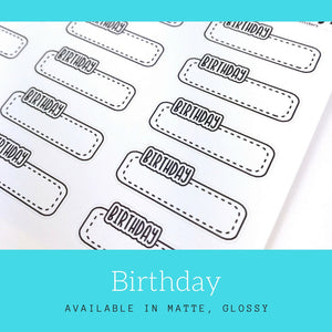 Planner Stickers | Erin Condren | Happy Planner | Bullet Journal | LS17a