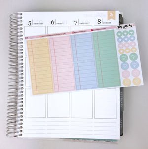 Planner Stickers | Erin Condren Planner | Happy Planner | BS20