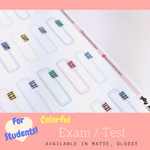 Student Sticker | Erin Condren | Planner Stickers | LS41b