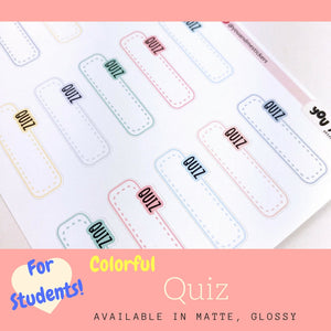Student Sticker | Erin Condren | Planner Stickers | LS42b