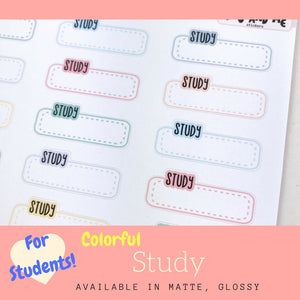 Student Sticker | Erin Condren | Planner Stickers | LS54b