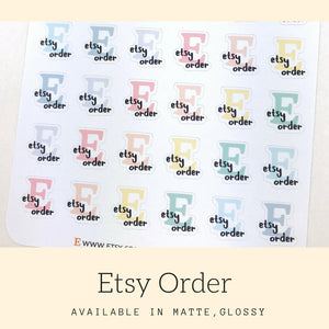 Etsy Sticker | Icon Stickers | IFS28