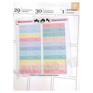 Planner Stickers | Functional Stickers | Erin Condren | PS27