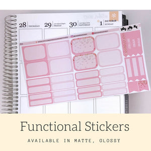 Pastel Stickers | Planner Stickers | Functional Stickers | Pastel | Weekly Stickers | Vertical | ECLP | Erin Condren | Happy Planner | PS11