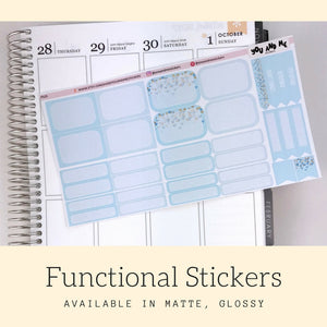 Pastel Stickers | Planner Stickers | Functional Stickers | Pastel | Weekly Stickers | Vertical | ECLP | Erin Condren | Happy Planner | PS15
