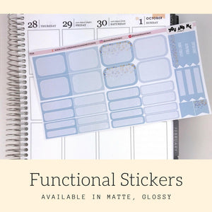 Pastel Stickers | Planner Stickers | Functional Stickers | Pastel | Weekly Stickers | Vertical | ECLP | Erin Condren | Happy Planner | PS16