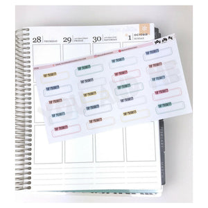 Planner Sticker | Erin Condren | Happy Planner | LS11b