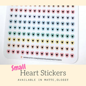 Planner Stickers | Heart Stickers | Erin Condren | HS46