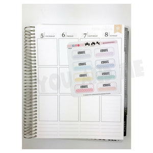 Planner Sticker | Erin Condren | FBS64