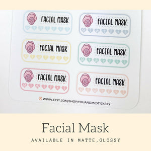 Beauty Sticker | Planner Sticker | Erin Condren | FBS56