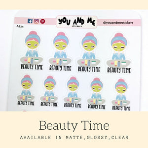 Beauty Stickers | Character Stickers | Katie | Erin Condren | AS24