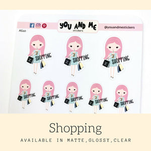 Character Stickers | Planner Stickers | Erin Condren | Happy Planner | AS20