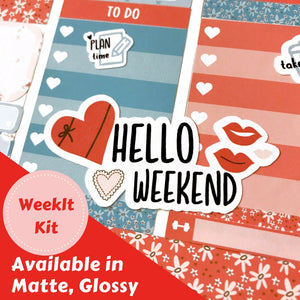 Valentine's Day | Weekly Kit | Erin Condren | WK27