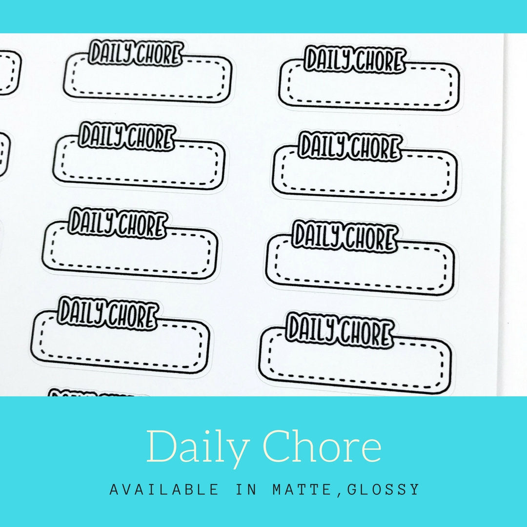 Daily Chore Stickers | LS56a